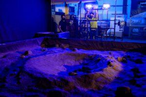 Testování světlometů pro rover VIPER