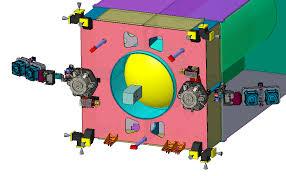 Navržený pohonný systém PPE se skládá ze dvou motorů AEPS na vnějším povrchu PPE a čtyř motorů BHT-6000 instalovaných v párech na dvou výklopných plošinách. V rozích modulu jsou hydrazinové korekční trysky.