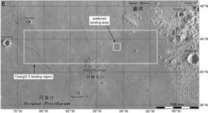 Pristávacia oblasť sondy Chang´e 5