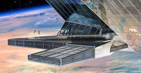 Návrhy vesmírných kolonií jsou většinou hodně geocentrické, skutečná sídla v kosmu však budou spíše jiná.