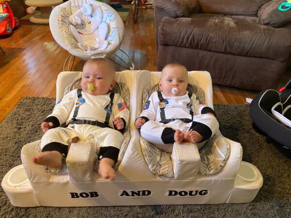 Když už jsme u té budoucnosti - s výchovou nové generace kosmonautů se musí začít už v útlém věku!