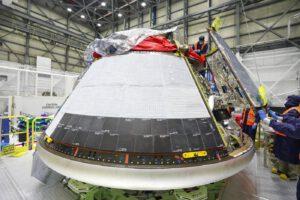 Modul pro posádku lodi Starliner, který poletí na misi OFT-2