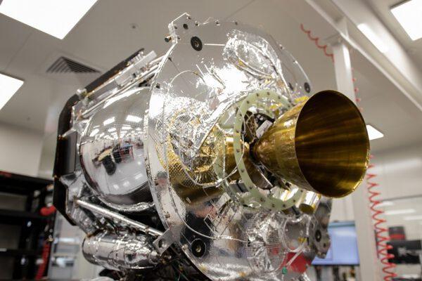 Stupeń Photon, který má v roce 2021 vynést CubeSat CAPSTONE od NASA k Měsíci.