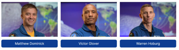 Matthew Dominick - Victor Glover - Warren Hoburg