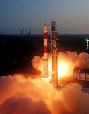 Start rakety PSLV