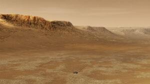 Perseverance na Marsu.