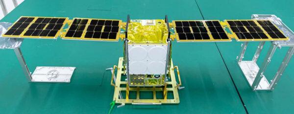 Družice Beihangkongshi-1 vybavená experimentálním jódovým pohonem.