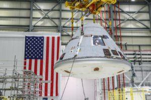 Návratová kabina lodi Starliner pro misi OFT-2.