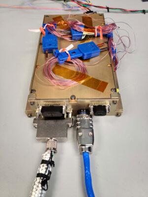 Datové úložiště kamer SCALPSS, kam se uloží snímky nafocené během přistání landeru Nova-C.