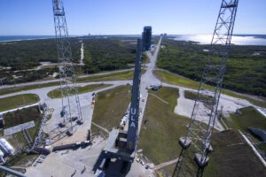 Startovní plošina určená pro rakety Vulcan.