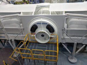 Dodavatelem kabiny pro posádku v návrhu landeru společnosti Dynetics je Thales Alenia Space Italia