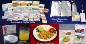 Indická posádka na své misi bude mít k dispozici celou řadu tradičních indických jídel a některé druhy nápojů.