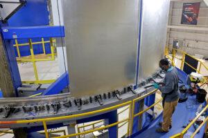 Dva panely jednoho z ověřovacích dílů v nástroji VWC, únor 2021