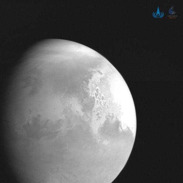 Mars z čínské sondy Tianwen-1