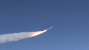 Raketa Pegasus-XL za letu.
