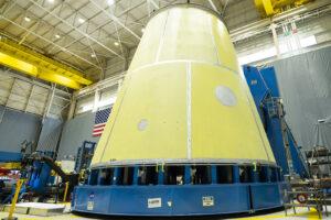 Adaptér LVSA pro Artemis II, březen 2021