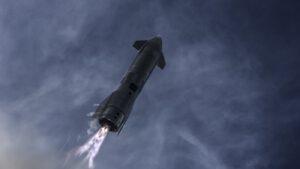 Flip manévr Starship SN-10