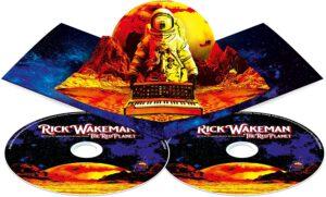 Album The Red Planet v limitované edici s leporelem uvnitř.