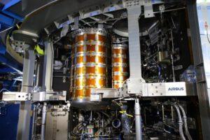 Nádrže na pitnou vodu v ESM-2, březen 2021