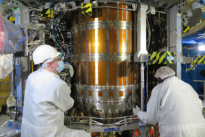 Palivová nádrž v ESM-2, únor 2021