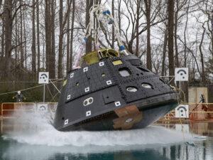 Dopadový test Orionu, 23. března 2021