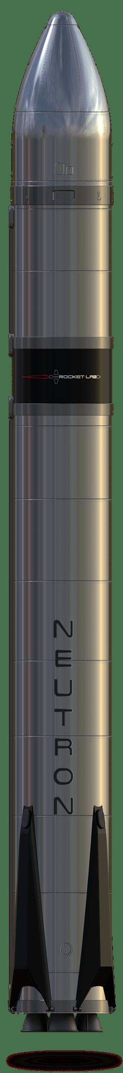 Oficiální vizualizace rakety Neutron z března roku 2021.