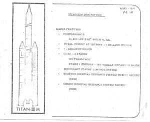 Titan verze IIIM nikdy nevzlétl, proto musíme vzít zavděk alespoň lehce omšelými nákresy...