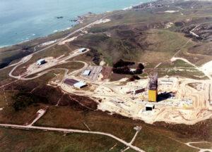 SLC-6 během výstavby