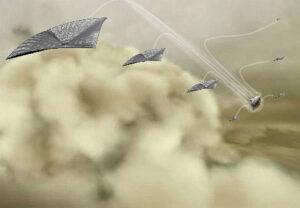 Projekt LEAVES (Lofted Environmental and Atmospheric Venus Sensors) pro průzkum atmosféry Venuše.