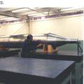 Maketa MOL určená pro testování v větrném tunelu
