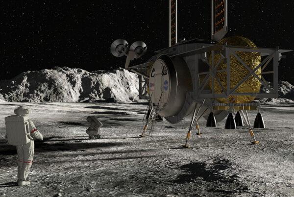 Návrh landeru společnosti Dynetics