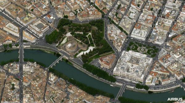 Andělský hrad je monumentální kruhová stavba v Římě. Vybudována byla na pravém břehu Tibery mezi lety 135–139.