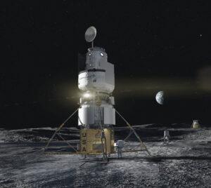 Návrh landeru společnosti Blue Origin