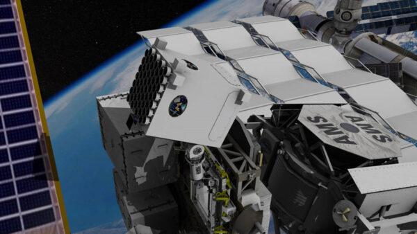 Zařízení NICER na vesmírné stanici ISS