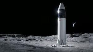 Lunární Starship vyhrála kontrakt HLS