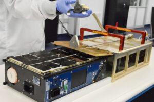 Ilustrační obrázek 6U CubeSatu postaveného firmou Tyvak. Snímek družice Tyvak 0130 není k dispozici.