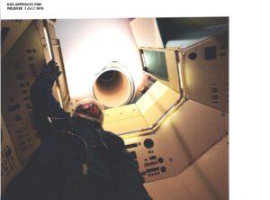 Možná nějak takto by bývala mohla vypadat aktivace stanice (snímek z testů).