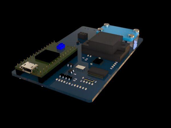 Tři senzory Evropské kosmické agentury budou na společné desce.