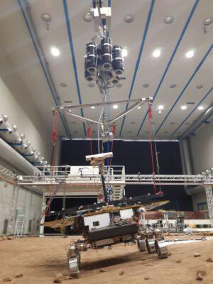GTM a zařízení simulující nižší gravitaci na Marsu