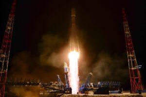 Start Sojuzu 2.1b