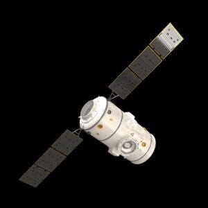 Vizualizace modulu I-Hab. Modul má být vynesen při misi Artemis 4 společně s Orionem.