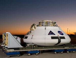 Maketa kosmické lodi Orion