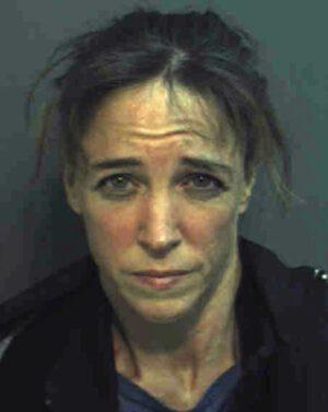 Velmi známá policejní fotografie Lisy Nowak po zatčení