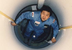 Wang během letu