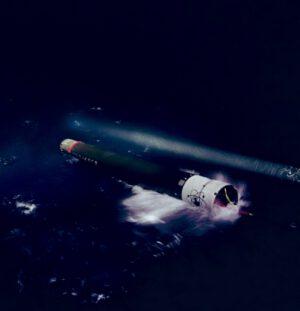 První stupeň Electronu přistál podle plánu do oceánu.