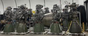 Nové motory Raptor připravené na základně Boca Chica