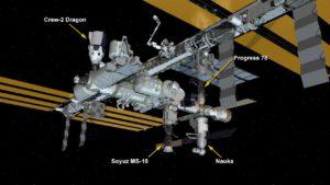 Podoba ISS po připojení modulu Nauka.