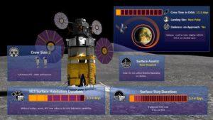 Referenční mise HLS-DRM-003 NON-POLAR SURFACE SORTIE MISSION
