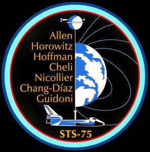 Emblém mise STS-75