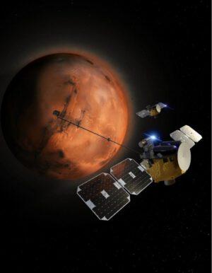 Představa dvojice sond ESCAPADE